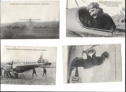 LOT DE 4 AVIATEUR GUILLAUX - Piloten