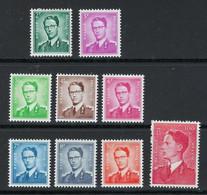 BELGIO 1958 /72 ⌛ Effige Di Re Baldovino I ⏳ - Nuovi * - Serietta - Cat. ? € - Lotto N. 155 - Unused Stamps