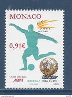 ⭐ Monaco - YT N° 2372 - Neuf Sans Charnière - 2002 ⭐ - Unused Stamps