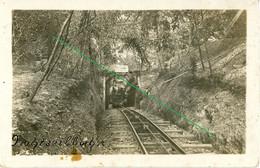 14-18.WWI - Carte Photo Allemande - Frontfoto  Seilbahn Feldbahn Zugbahn Interressant - Guerra 1914-18