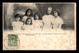 LUXEMBOURG - FAMILLE GRAND-DUCALE - LES PRINCESSES ENFANTS - VOIR ETAT - Koninklijke Familie
