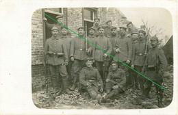 14-18.WWI - Carte Photo Allemande - Frontfoto  Soldaten Frankreich - Guerra 1914-18