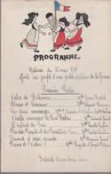 PROGRAMME -  MATINEE Du 10 MARS 1918 - Au Profit D'une Petite Orpheline De Guerre    (16 X 24.6 Cm.) - Programma's