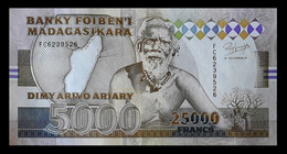 # # # Banknoten Madagaskar (Madagascar) 5.000 Francs AUNC- 1993 # # # - Madagascar
