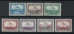 BELGIO 1930 /35 ✈ Posta Aerea ✈ - Nuovi * ✈ 2 Serie Complete - Cat. 48 € - Lotto N. 160 - Posta Aerea