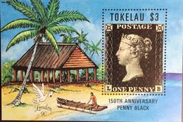 Tokelau 1991 Stamp World 1990 Penny Black Anniversary Minisheet MNH - Tokelau