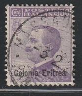 ERYTHREE - N°35 Obl (1908-16) - Eritrea