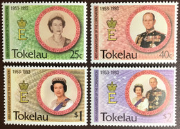 Tokelau 1993 Coronation Anniversary MNH - Tokelau