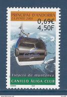⭐ Andorre Français - YT N° 540 - Neuf Sans Charnière - 2001 ⭐ - Neufs