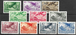 Hungary Mlh * 1936 55 Euros - Unused Stamps