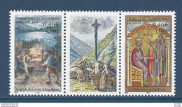 ⭐ Andorre Français - YT N° 543 Et 544 - Neuf Sans Charnière - 2001 ⭐ - Neufs