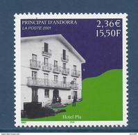 ⭐ Andorre Français - YT N° 553 - Neuf Sans Charnière - 2001 ⭐ - Neufs