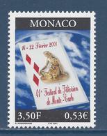 ⭐ Monaco - YT N° 2295 - Neuf Sans Charnière - 2001 ⭐ - Unused Stamps