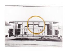 Photo (9 X 13 Cm ) Voiture Tractée Par Un Tram, Tramway, Vicinal -  Musée De Schepdael (b134) - Treinen