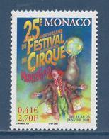 ⭐ Monaco - YT N° 2286 - Neuf Sans Charnière - 2000 ⭐ - Unused Stamps