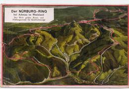 DC5795 - Ak Nürburg Ring Karte - Otros