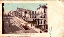 SAN FRANCISCO - California Street Hill - San Francisco