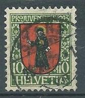 Suisse YT N°193 Pro Juventute 1923 Oblitéré ° - Used Stamps