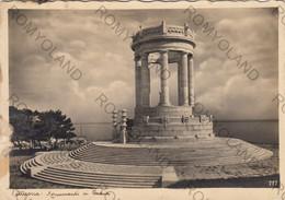 CARTOLINA  ANCONA,MARCHE,MONUMENTO AI CADUTI,MEMORIA,RELIGIONE,CULTURA,STORIA,BELLA ITALIA,VIAGGIATA 1936 - Ancona