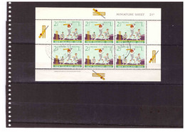 BF.878  -  NEW ZEALAND   /  BLOCCO FOGLIETTO USATO  -  Y&T.  Nr.  BF. 25/26 - Blocks & Kleinbögen