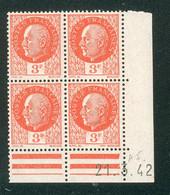 Lot A286 France Coin Daté N°521 Pétain (**) - 1940-1949