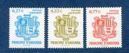 ⭐ Andorre Espagnol - YT N° 297 à 299 ** - Neuf Sans Charnière - 2004 ⭐ - Nuevos