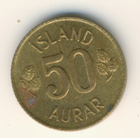 ICELAND 1970: 50 Aurar, KM 17 - Iceland