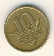 LIETUVA 1998: 10 Centu, KM 106 - Lithuania