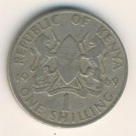 KENYA 1969: 1 Shilling, KM 14 - Kenya
