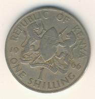 KENYA 1966: 1 Shilling, KM 5 - Kenya