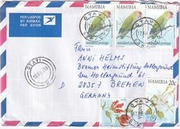 NAMIBIE 1999 PLI AERIEN DE OTAVI - Namibia (1990- ...)