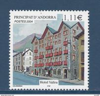 ⭐ Andorre Français - YT N° 593 - Neuf Sans Charnière - 2004 ⭐ - Neufs