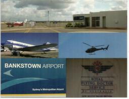 Royal Flying Doctor Service Of Australia. Bankstown Airport. Sydney. NSW. Unused Postcard - Aerodromi
