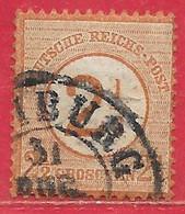 Allemagne N°28 2,5g Brun-rouge 1874 O - Oblitérés