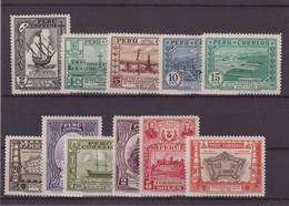 PEROU : N° 320/30 * . TB .1936 . ( CATALOGUE YVERT ) . - Pérou