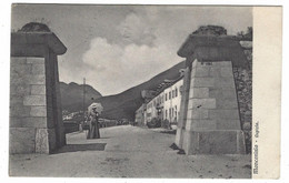 WXI - MONCENISIO - TORINO - OSPIZIO ANIMATA VIAGGIATA 1908 - Altre Città