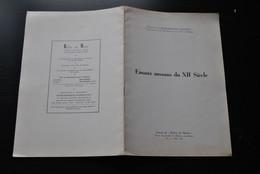 Comte J. De BORCHGRAVE D'ALTENA EMAUX MOSANS DU XIIè Siècle Régionalisme Extrait De Reflets Du Monde 1952 Art Mosan - Belgique