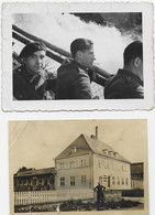 1939-1945 : Soldats Belges Prisonniers Au Stalag VIIIA (2 Photos) - War, Military
