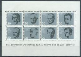 Allemagne Bloc-feuillet YT N°2 Attentat Du 20 Juillet 1944 Neuf ** - Blocks & Sheetlets