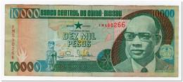 GUINEA BISSAU,10 000 PESOS,1993,P.15b,aVF - Guinea-Bissau