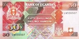 Uganda 50 Shillings, P-30c (1994) - UNC - Uganda