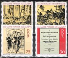 RDA 43 - ALLEMAGNE ORIENTALE N° 1345/48 Neufs** Commune De Paris - Unused Stamps
