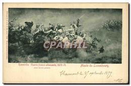 CPA Militaria Guerre De De 1870 Rezonville Musee Du Luxembourg - Andere Oorlogen