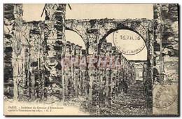 CPA Militaria Guerre De De 1870 Paris Interieur Du Grenier D&#39Abondance Apres La Commune - Andere Oorlogen