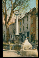 CPA  VENCE - La Basse-Fontaine, Place Antony-Mars - Non Circulée - Vence
