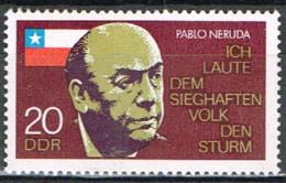 RDA 43 - ALLEMAGNE ORIENTALE N° 1600 Neuf** Neruda - Ungebraucht