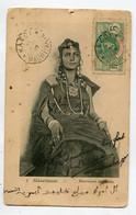 MAURITANIE Jeune Fille Mauresque De 14 Ans Parée De Ses Bijoux 1907 Cachet Départ Kaedi   D08 2021 - Mauritania