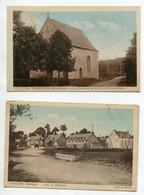 56 CARENTOIR 2 Cartes Route Pont De L'Hotellerie Et La Chapelle De N.D De Fondelierme   D08 2021 - Andere Gemeenten