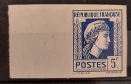 France 1944 Coq Et Marianne (d'Alger) N°645 BdF** TB Cote Maury 80€ - Ungezähnt