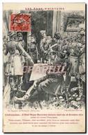 CPA Militaria Guerre De 1870 Chateaudun L&#39Etat Major Bavarois Dans La Nuit Du 18 Octobre 1870 Hot - Andere Oorlogen